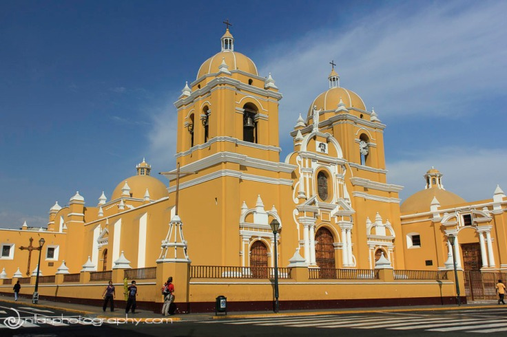Basilica of St Mary, Trujillo, Peru, South America