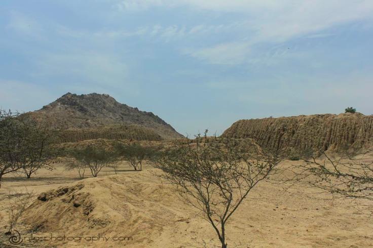 Huaca Rajada archaeological site, Chiclayo, Peru, South America