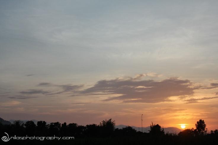 sunset, Tarapoto, Peru, South America