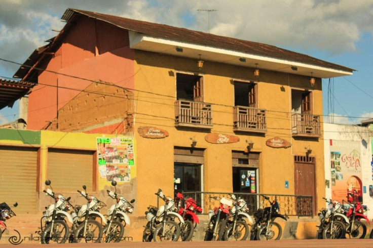 Motor bikes, Tarapoto, Peru, South America