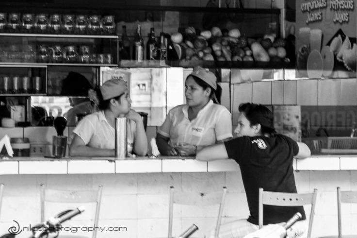Drink stand, Tarapoto, Peru, South America