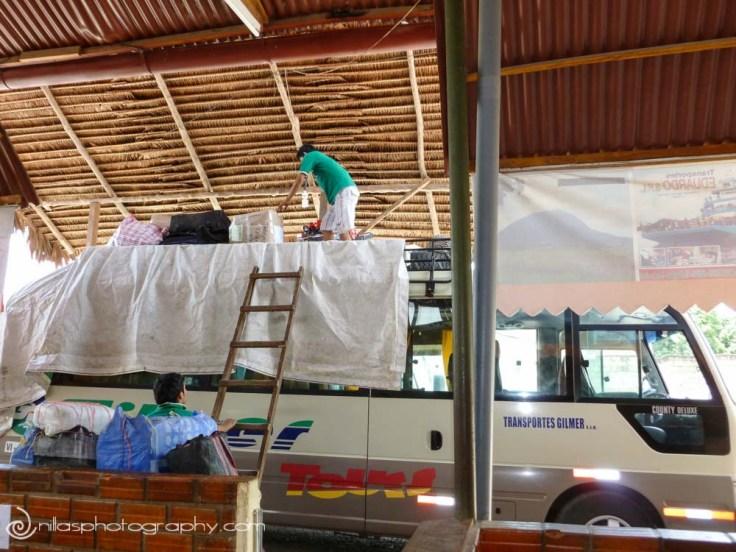 minibus, Gilmer, Tarapoto, Peru, South America