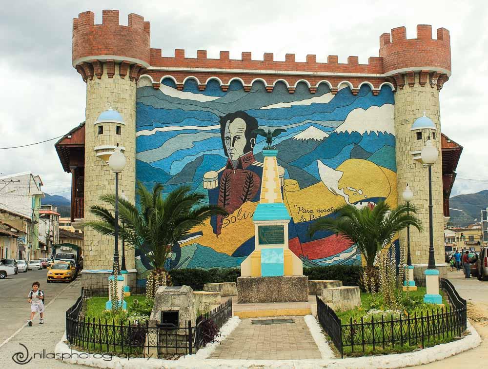 Simón Bolívar, Loja, Ecuador, South America