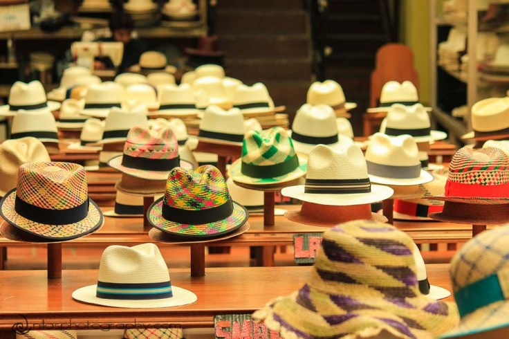 Panama hats, Cuenca, Ecuador, South America