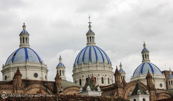 Cathedral of Immaculate Conception, Cuenca, Ecuador, South America