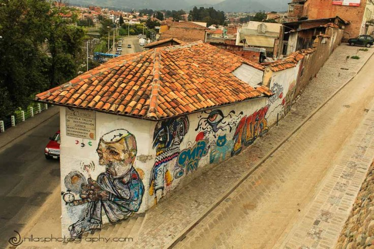 street art, Cuenca, Ecuador, South America