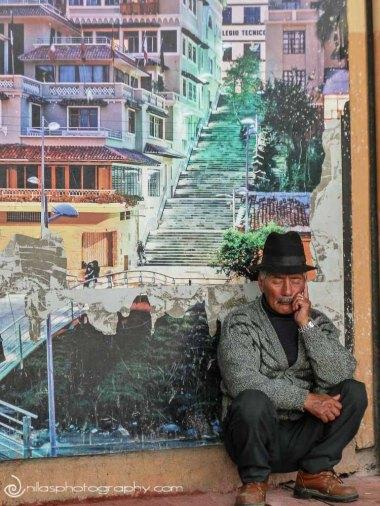 murals, Loja, Ecuador, South America