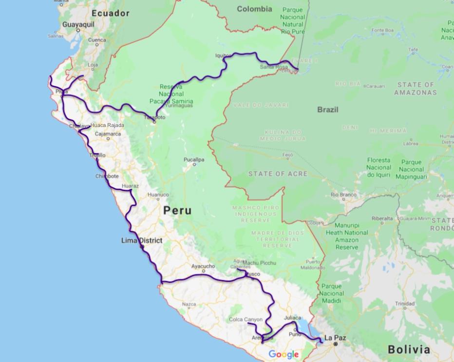 Border Crossing Peru S Piura To Ecuador S Loja Image Earth Travel