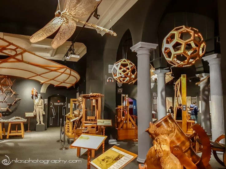 Leonardo di Vinci museum, Florence, Italy, Europe