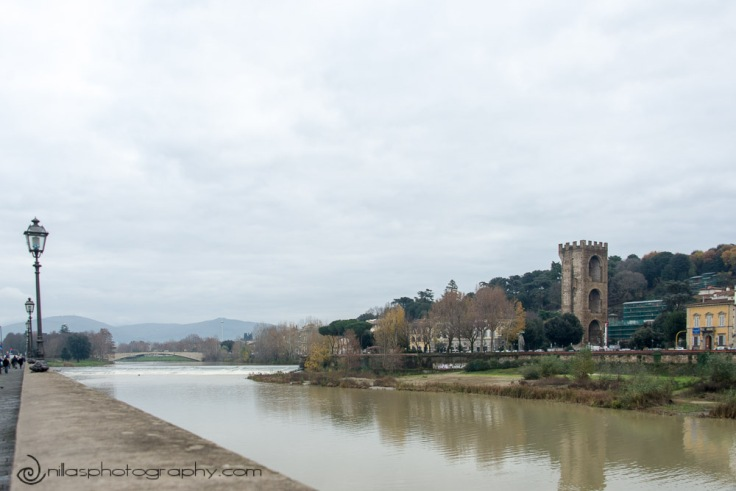 River Arno, Florence, Italy, Europe