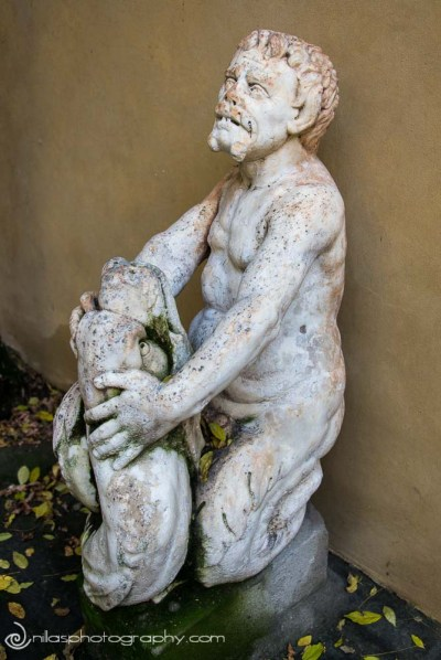 gardens, Palazzo Medici Riccardi, Florence, Italy, Europe