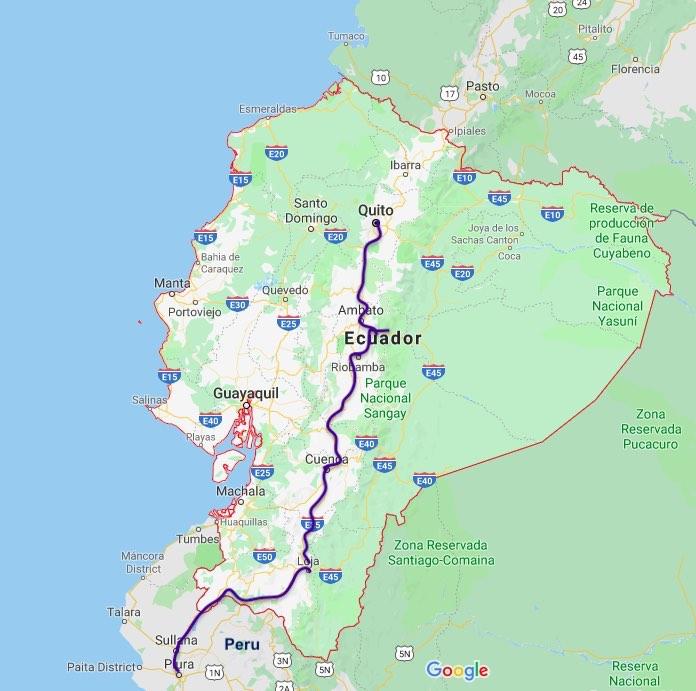 2 weeks in Ecuador, South America