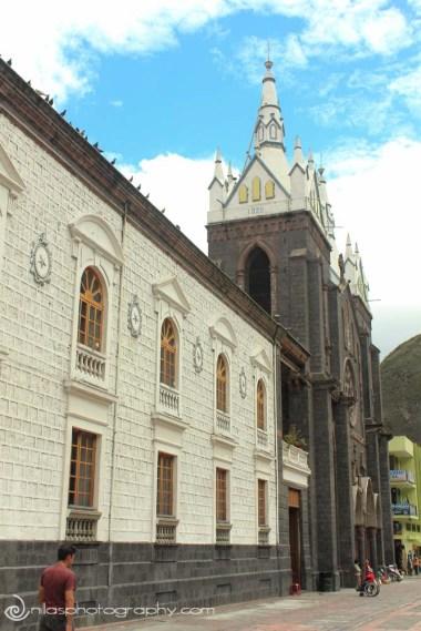Nuestra Senora del Agua Santa, Baños, Ecuador, South America
