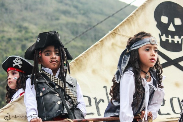 parade, Baños, Ecuador, South America