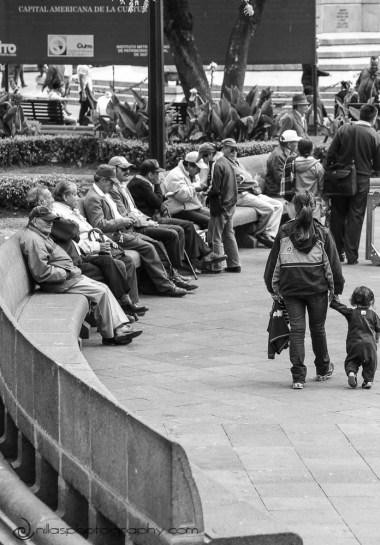 central plaza, Quito, Ecuador, South America