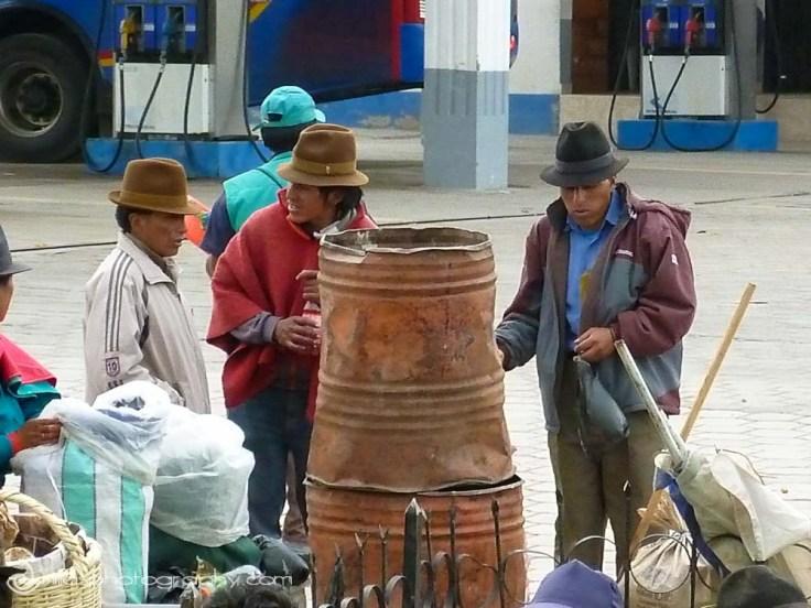 street scenes, Riobamba, Baños, Ecuador, South America
