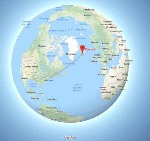 New York, America, Reykjavík, Iceland