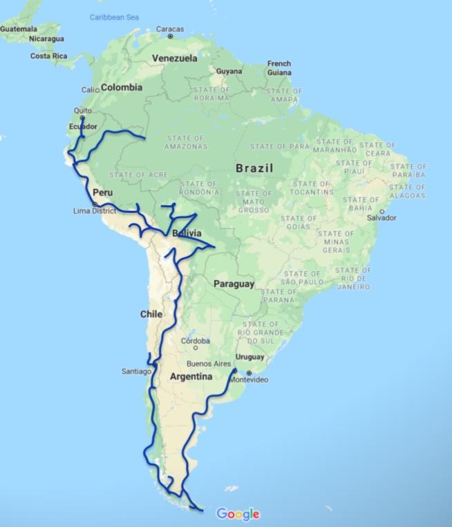 South America: 5 Top Treks