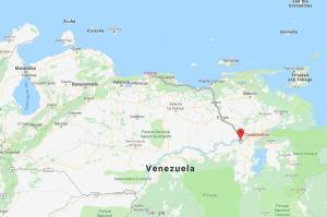 Caracas to Cuidad Bolivar, Venezuela, South America