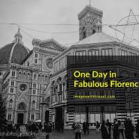 One Day in Fabulous Florence