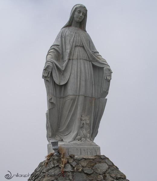 Virgen del las Nieves, El Teleferico de Mérida, Andes, Venezuela, South America