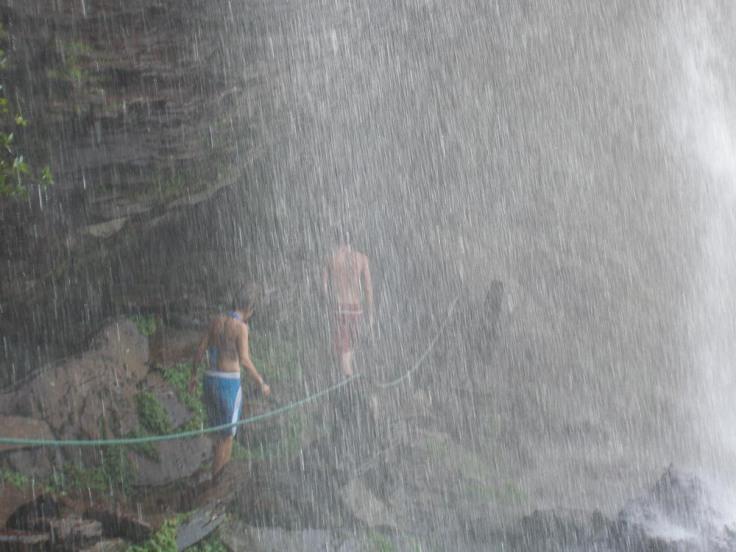 Salto El Sapo, Canaima Lagoon, Venezuela, South America
