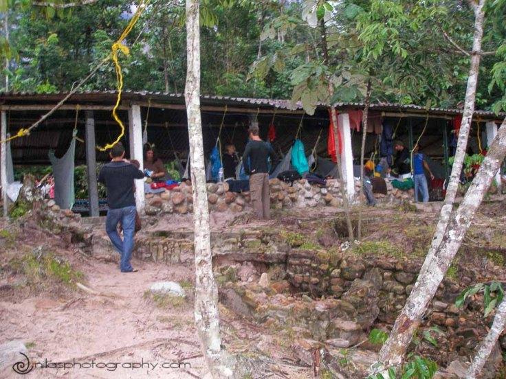 campsite, Angel Falls, Canaima, Venezuela, South America