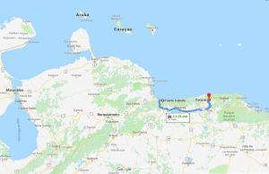 Puerto Cabello to Caracas, Venezuela, South America