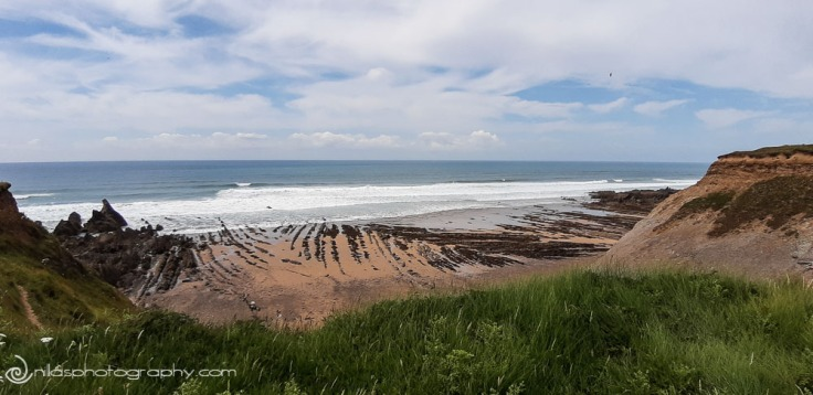coastal walk, Bude, Cornwall, England, United Kingdom, Europe