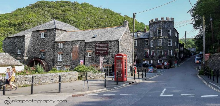 Wellington Hotel, Boscastle, Cornwall, England, United Kingdom, Europe