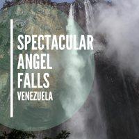 Spectacular Angel Falls, Venezuela