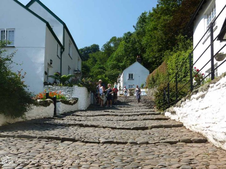 cobblestones, Clovelly, Devon, United Kingdom, Europe