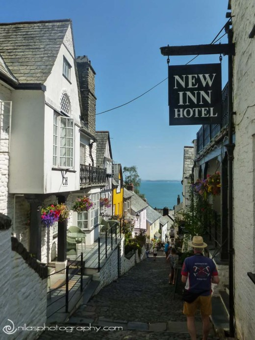 New Inn Hotel, Clovelly, Devon, United Kingdom, Europe