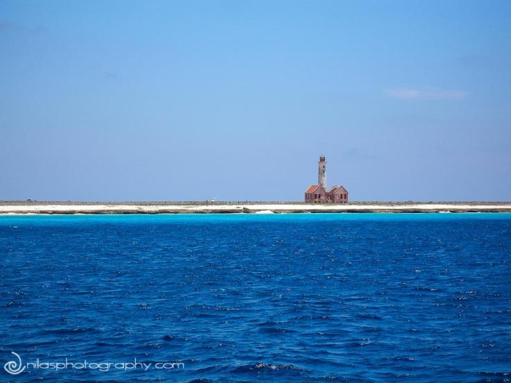 lighthouse, Klein Curaçao, Netherlands Antilles, southern Caribbean