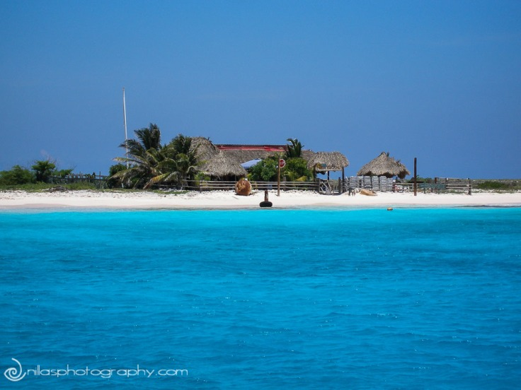fishing huts, Klein Curaçao, Netherlands Antilles, southern Caribbean