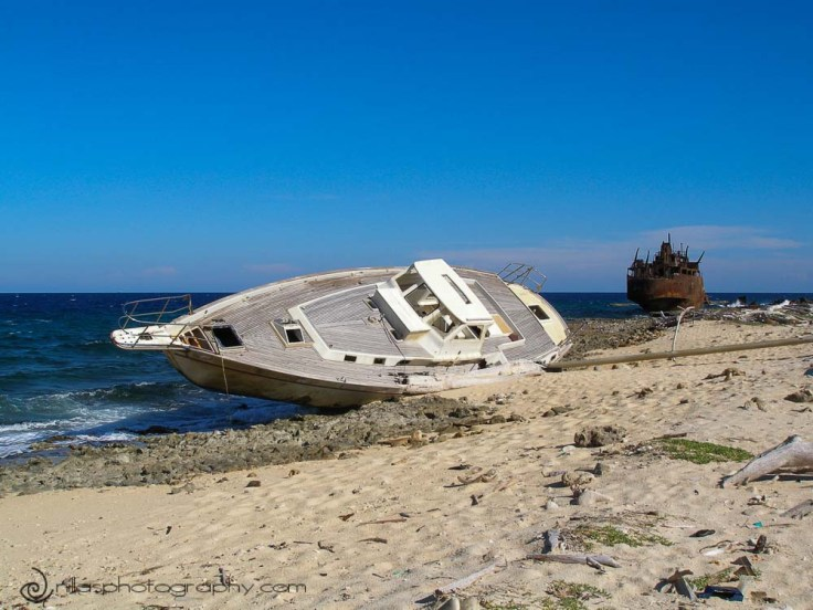 shipwrecks, Klein Curaçao, Netherlands Antilles, southern Caribbean