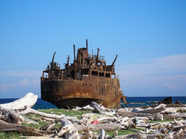 Maria Bianca Guidesman shipwreck, Klein Curaçao, Netherlands Antilles, southern Caribbean