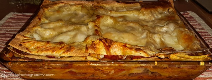 food award nomination, lasagna
