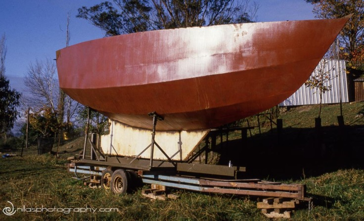 upturned hull, Windsor, Hawkesbury, NSW, Australia, Oceania