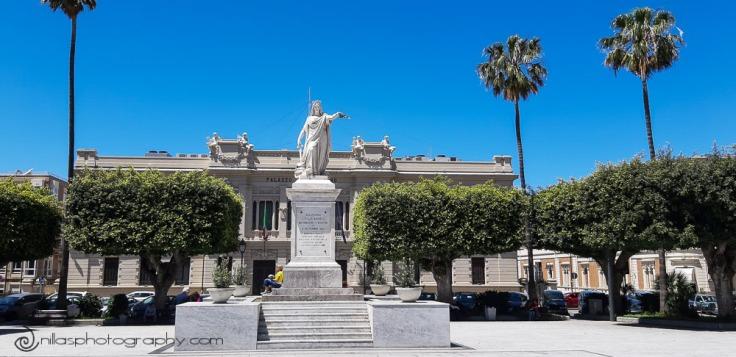 Piazza Italia, Lungomare, Reggio Calabria, Italy, Europe