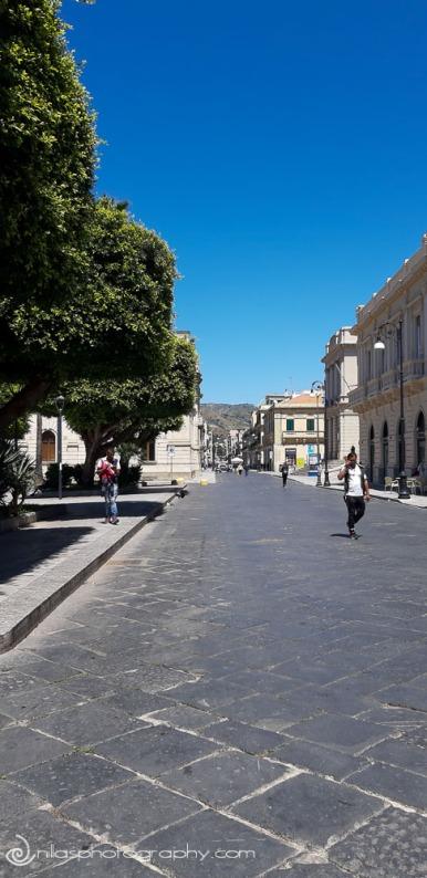 Corso Garibaldi, Lungomare, Reggio Calabria, Italy, Europe