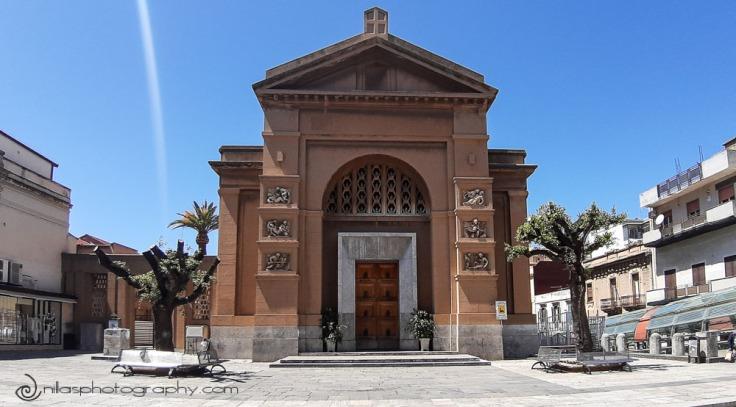 St George church, Corso Garibaldi, Lungomare, Reggio Calabria, Italy, Europe