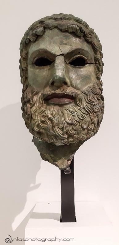 Riace bronze, Magna Grecia National Museum, Reggio Calabria, Italy, Europe