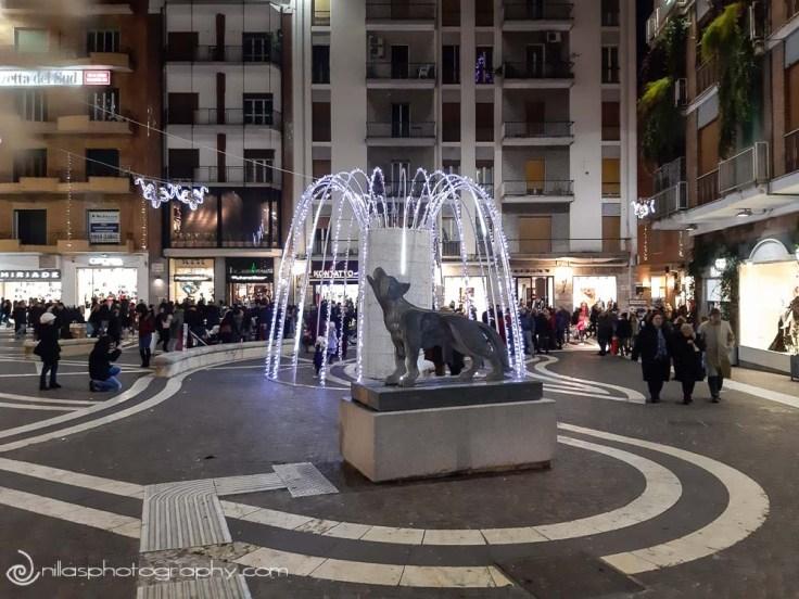 Il lupo, Corso Mazzini, Cosenza, Calabria, Italy, Europe