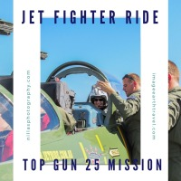 Jet Fighter Ride - Top Gun 25 Mission