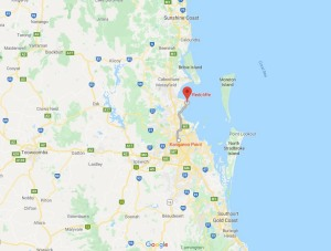 Kangaroo point to Redcliffe peninsular, Queensland, Australia