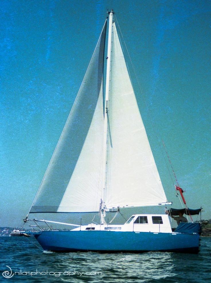 Sailing boat, Queensland, Australia, Oceania