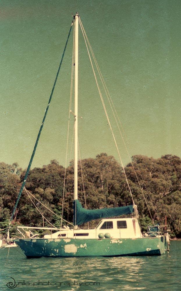 Building a boat, Sydney, NSW, Australia, Oceania