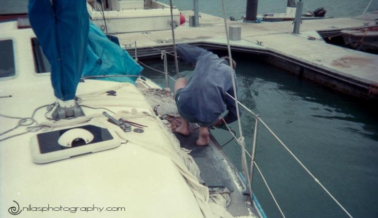 boat work, Gladstone, Queensland, Australia, Oceania