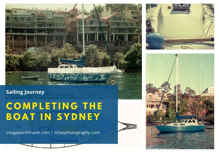 Completing the Boat in Sydney, Australia, Oceania